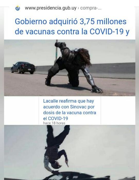 Admin uruguayo corre peligro - meme