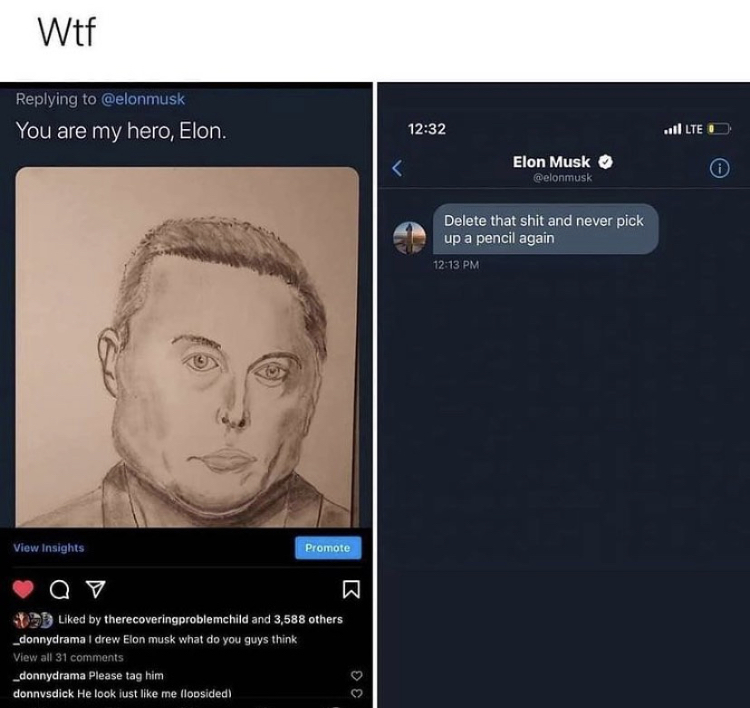 Elongated musk - meme