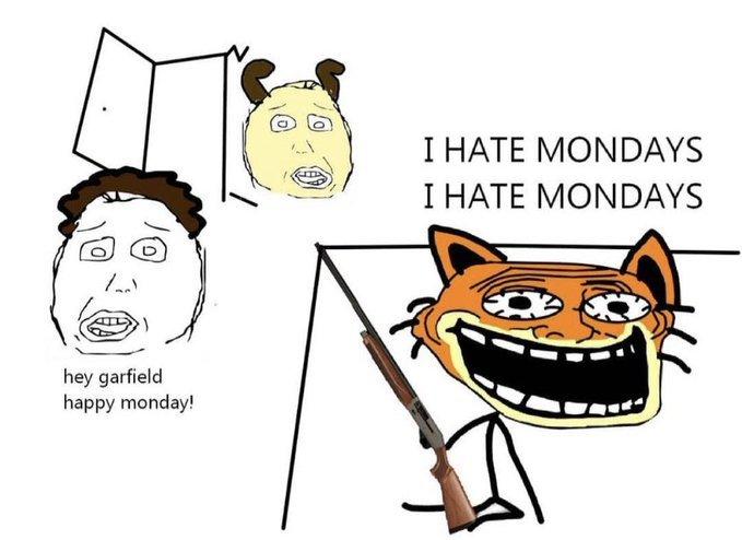 odio los lunes - meme
