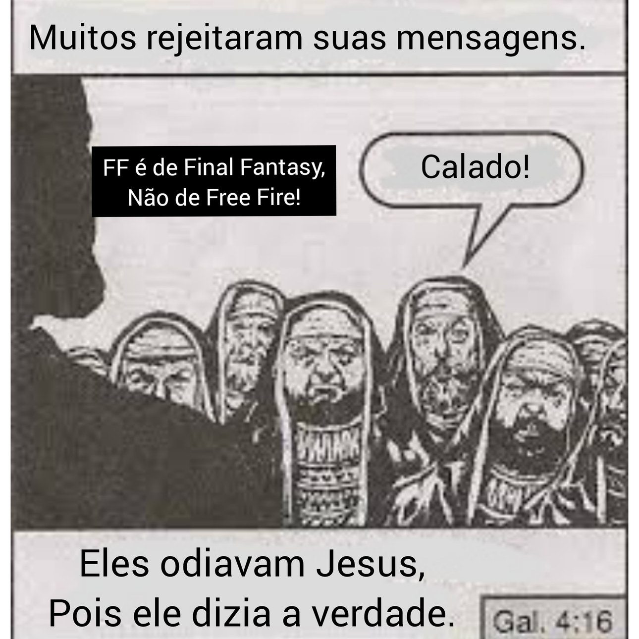 Tá na bíblia - meme