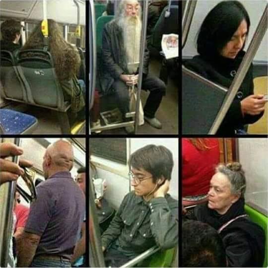 Harry potter et le mystère du métro - meme