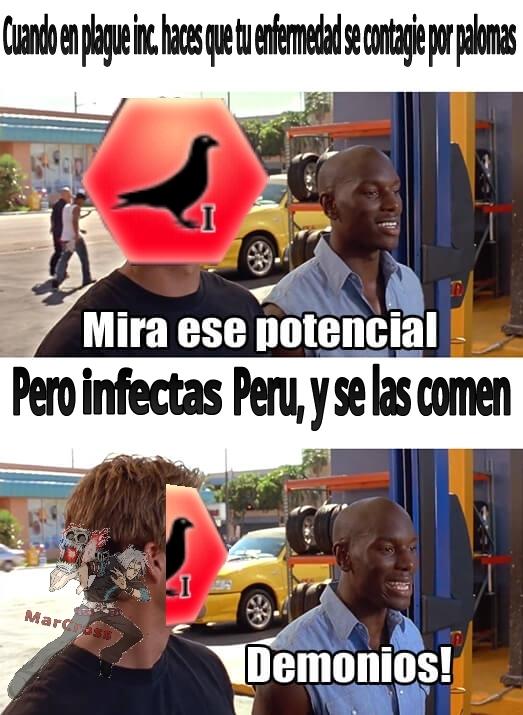 Roberto fue víctima peruana - meme