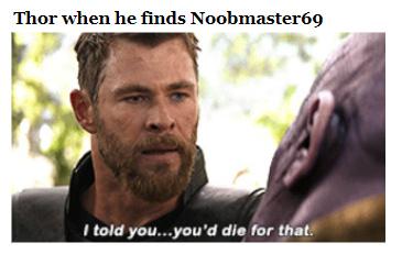 *screams in noob* - meme