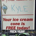 Free Ice cream day