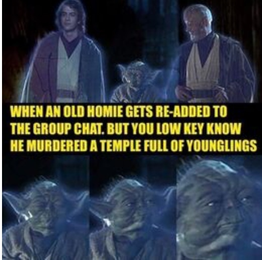Yoda knows - meme