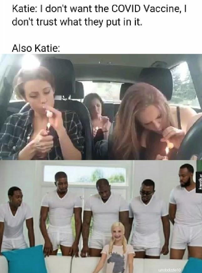 Just say no, Vaccines editing - meme