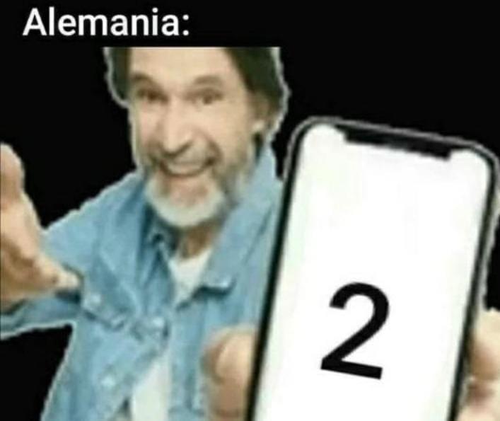 Alemania: 2 - meme