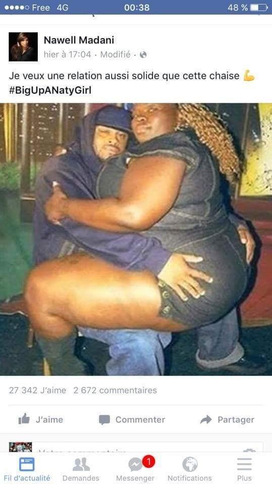 Je veux un amour aussi solide que cette chaise *.* - meme
