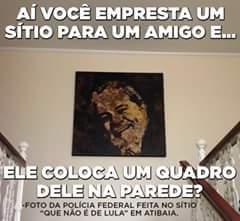 O homem mais honesto do Brasil só que não - meme