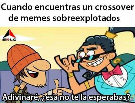 El mejor crossover :v - meme