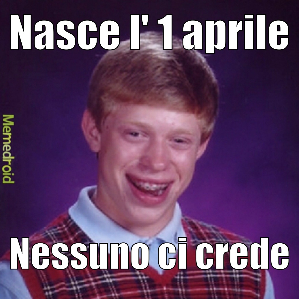 Bad Luck Brian - meme