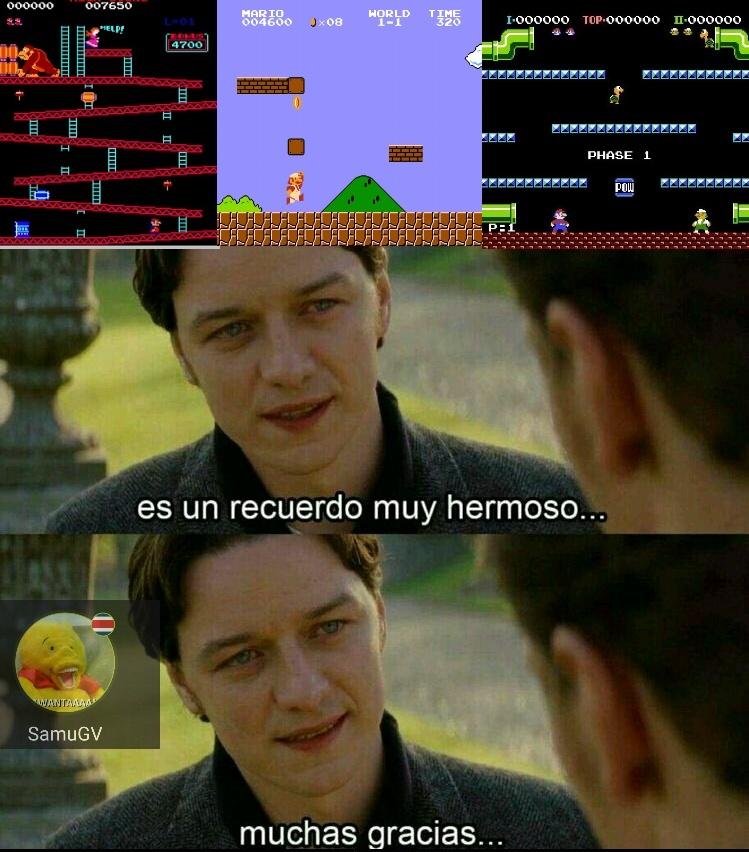 Mario❤ - meme