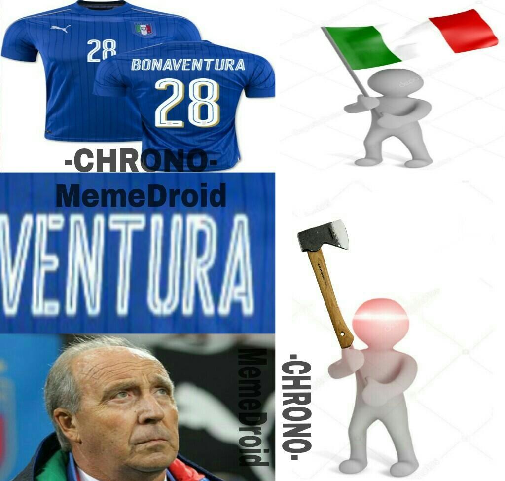 Bonaventura e (s)Ventura - meme