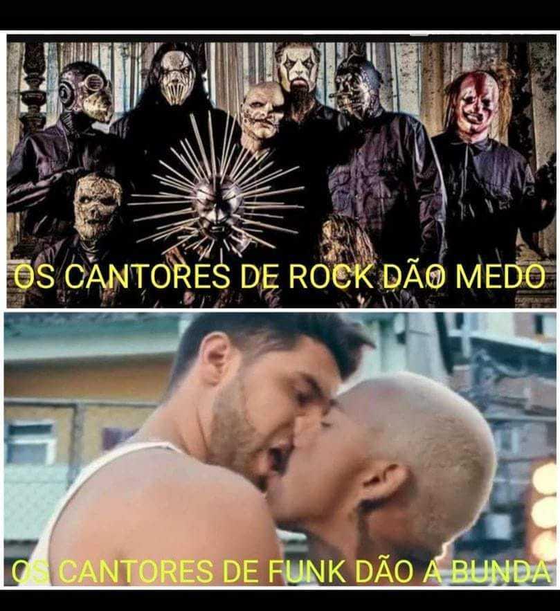 Funk nem é música - meme