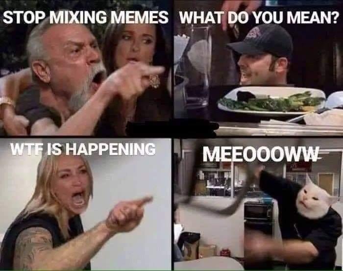 I am not normal - meme
