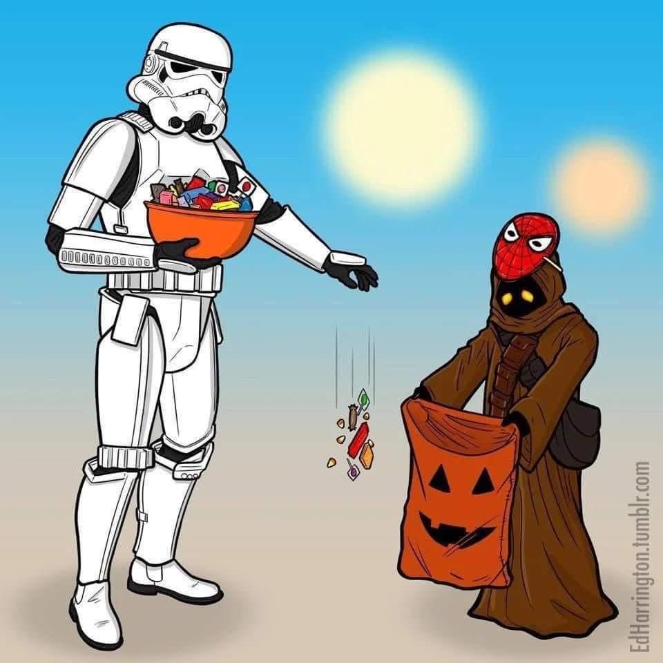 Damn troopers - meme