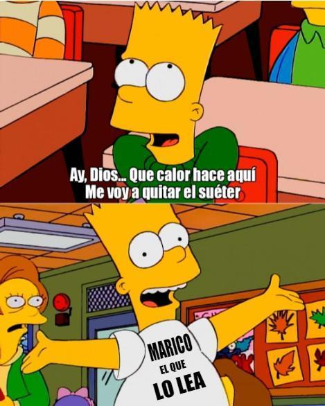 MARICO EL QUE LO LEA - meme