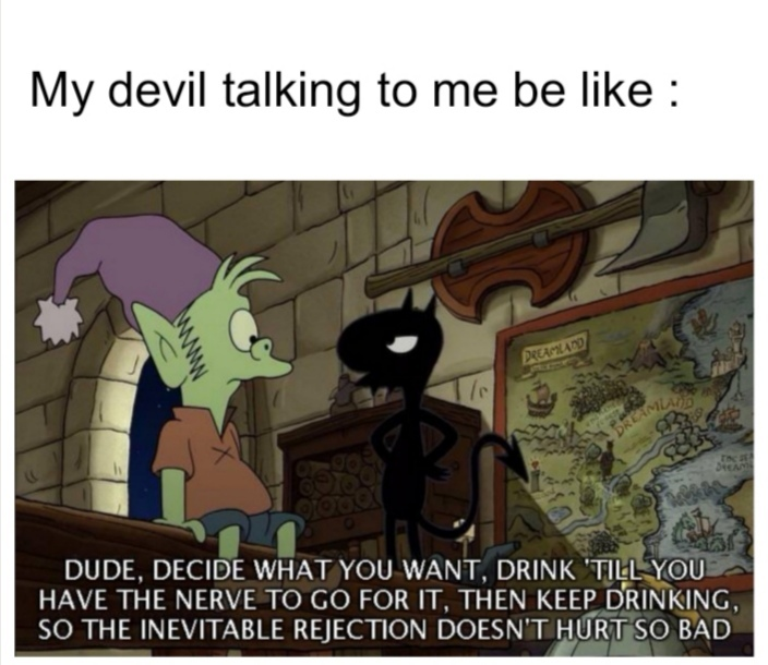 My devil - meme