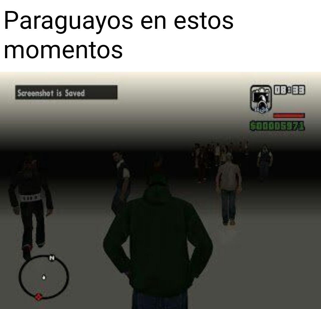 ¿Y Paraguay? - meme