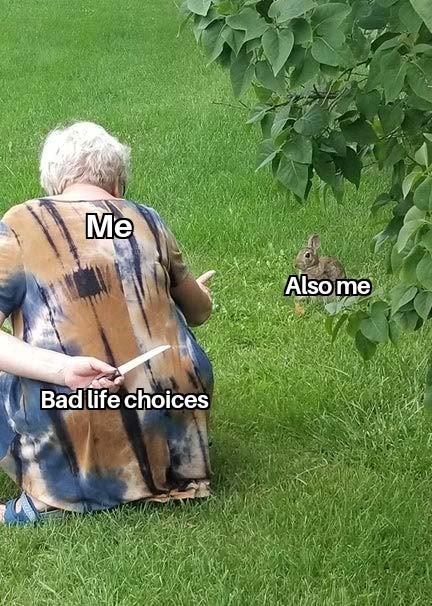 Life right now - meme