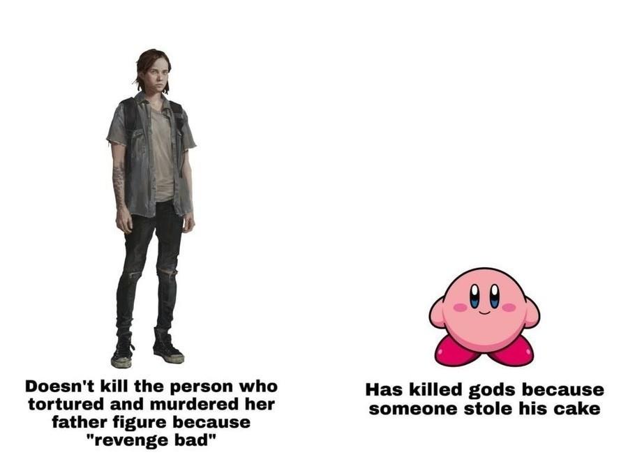Kirby, Devourer of Gods - meme