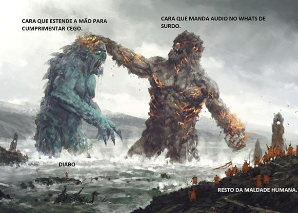 Maldade humana - meme