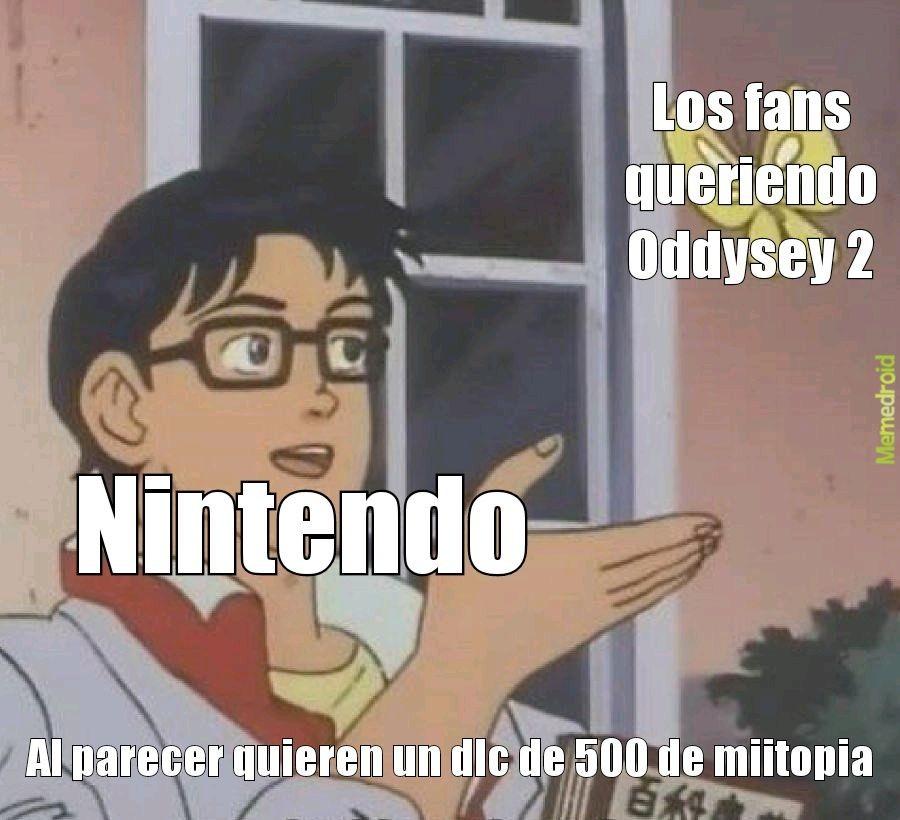 NINTENDO MAMABICHO - meme