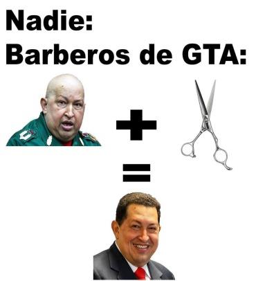 Barberos de GTA - meme
