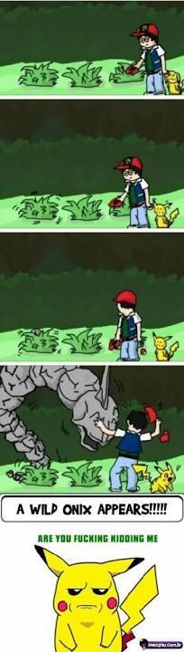 Trollagem Pokemon;-; - meme