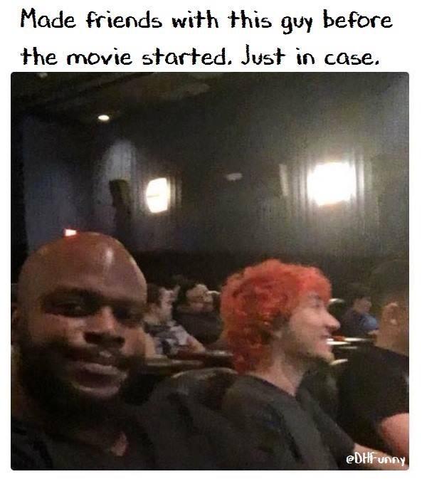 just in case - meme