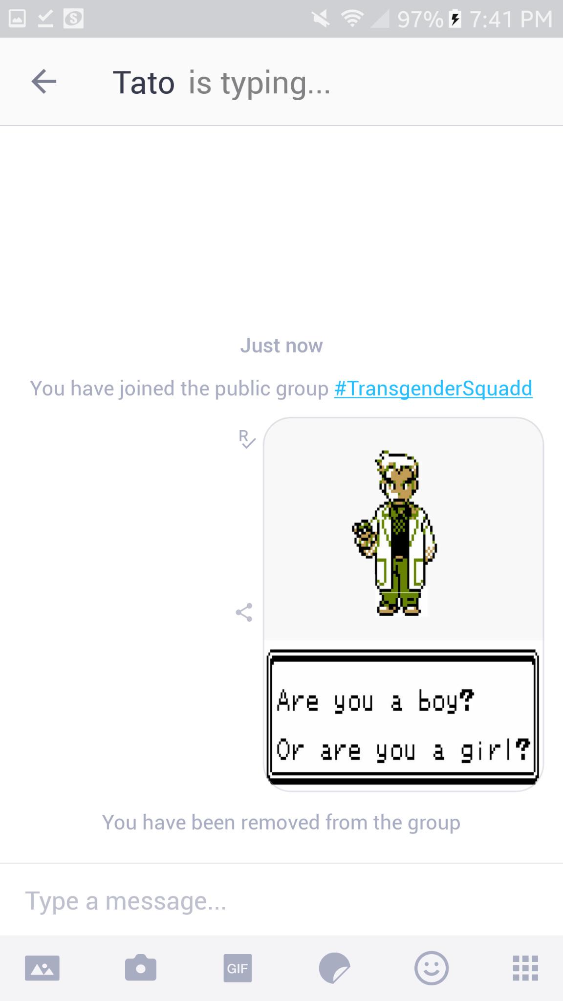 Only 2 genders - meme