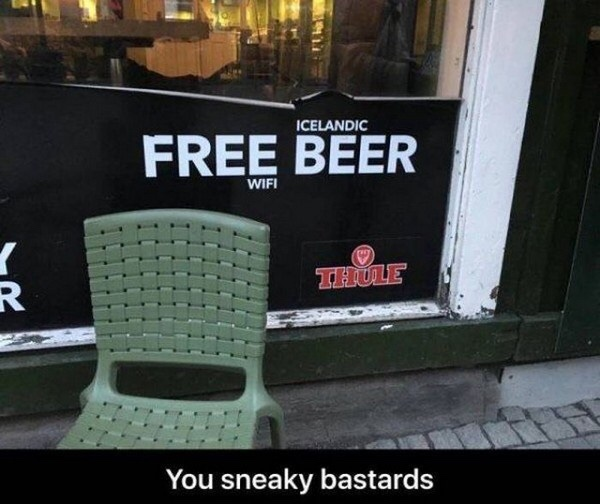 Free Beer or Free Wifi 'Tis the Question - meme