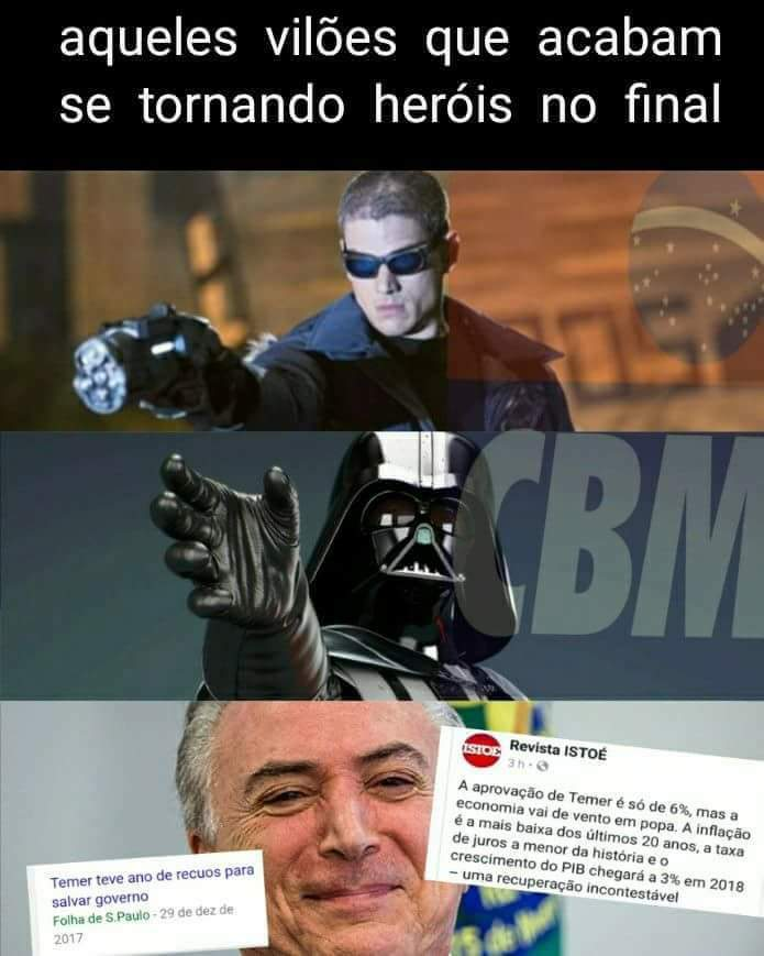 #Temer2022 - meme
