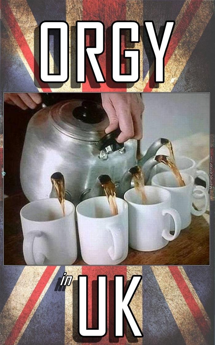 Tea time - meme