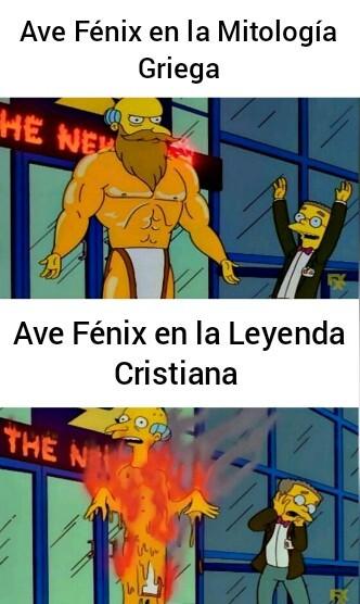 Ave Fenix AKA Callejeros - meme