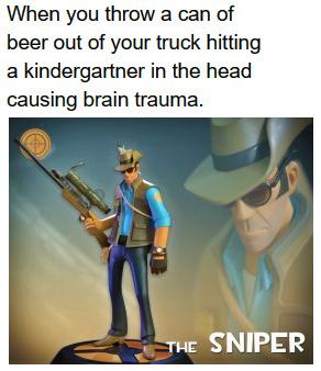 Head Shot + 25 - meme