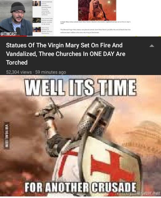 Time for a Crusade - meme