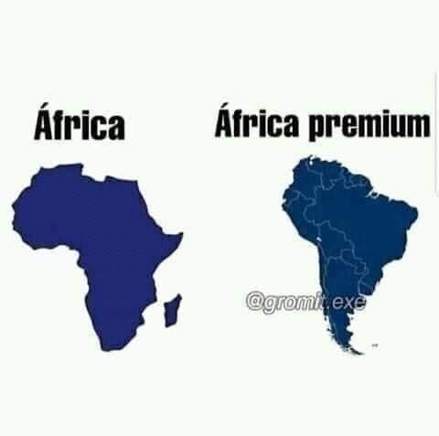Africa con mods - meme