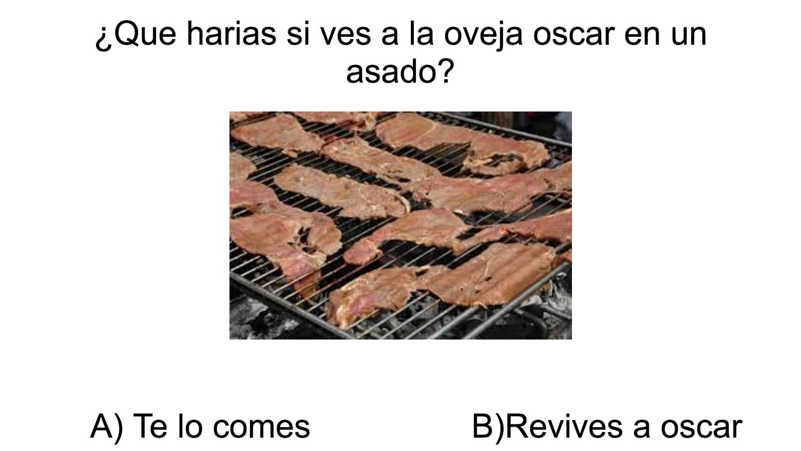 A o B ¿que prefieres? pon tu respuesta en los comentarios - meme