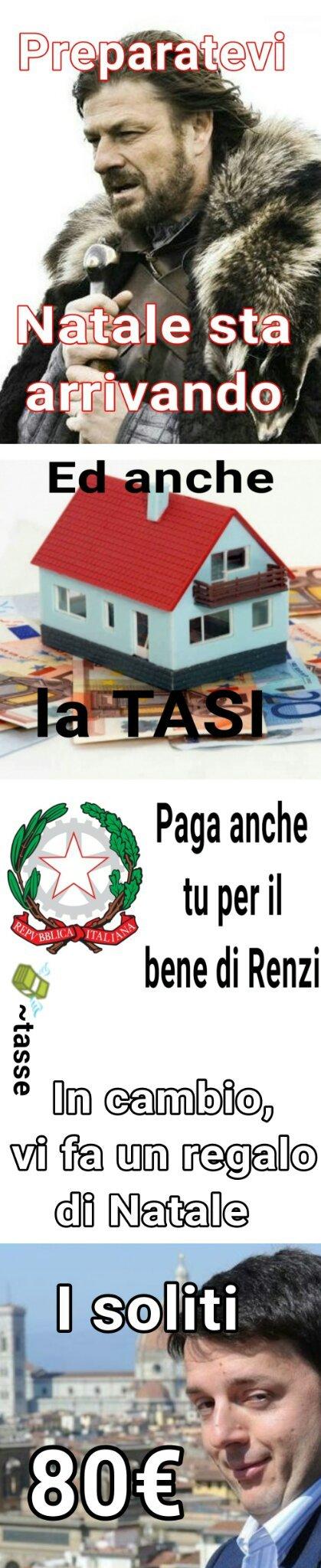 *SCORRETE SOTTO*, Babbo Natale e Renzi stanno arrivando!, leggetelo che è diverso! Cito -MrBean- e QuellicheBenPensano - meme
