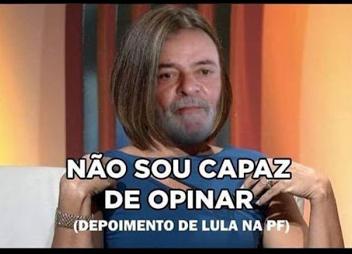 Lula na pf - meme