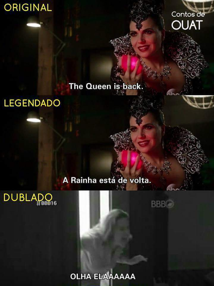 Regina>>>>Ana Paula - meme