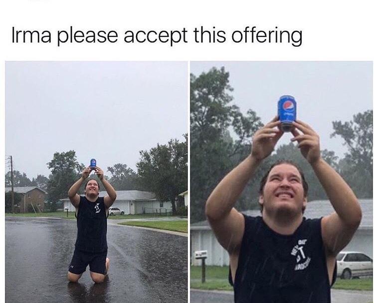 rain rain go away - meme