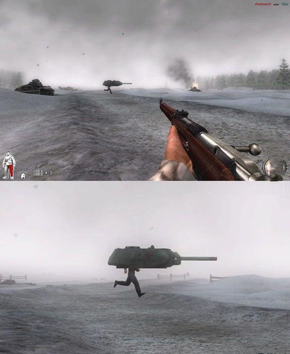 Secret WW2 weapon - meme