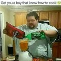 Get a boy who knows how to cook
