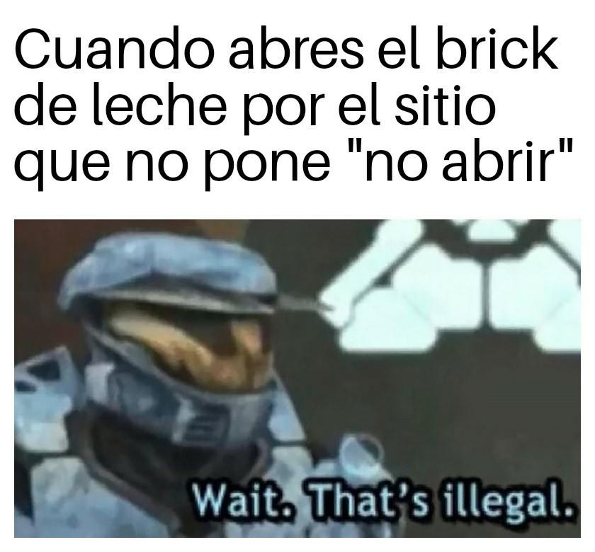 Brick de Leche - meme