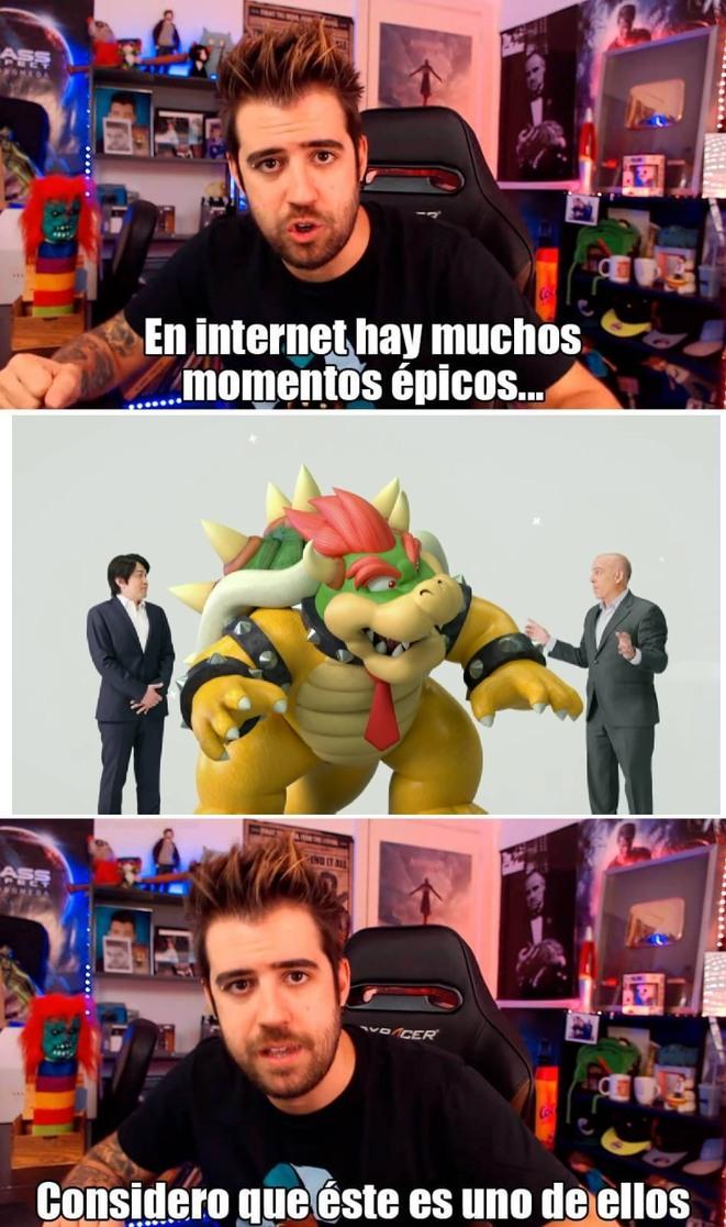 Nintendo y sus Crossovers ya se pasaron - meme