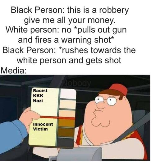 double standard. - meme