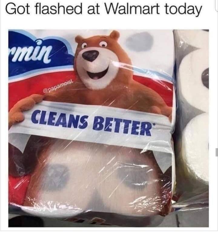 Walmart be wack - meme