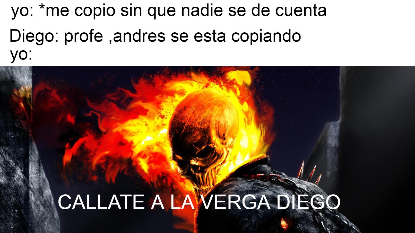CALLATE A LA VERGA DIEGO - meme